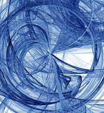 bursting abstract blue design