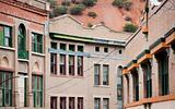 Builkdings in Bisbee Arizona