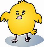 Fat baby bird