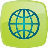 Globe navigation icon