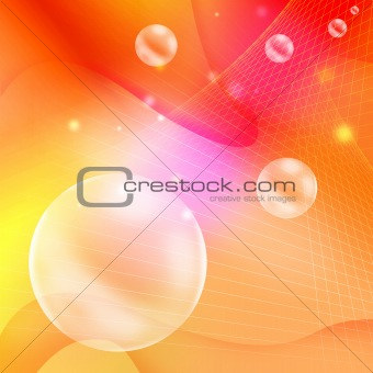 Background with circle