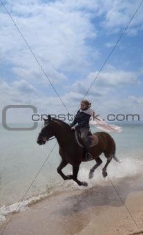 Beach Gallop / summer freedom