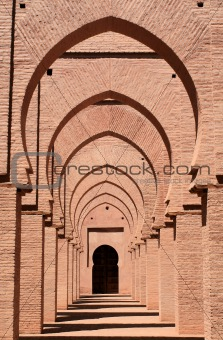 Arches in mosque