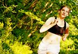 Woman Trail Runner