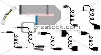 cable vector illustration