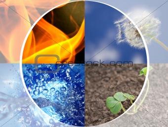 4 elements concept