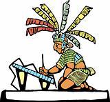 Mayan Scribe