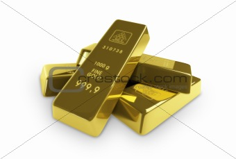 gold, gold-bars