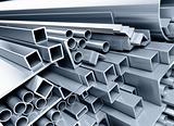 metallic pipes, corners, types
