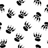 Abstract pawprint background.