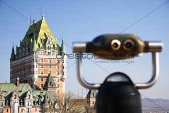 Quebec City: Chateau Frontenac