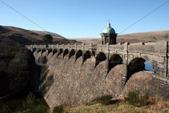 Craig Goch Reservoir Dam