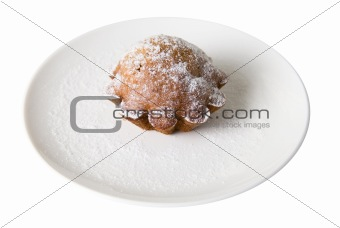 Cake at plate