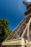 Eiffel Tower in Wide Angle
