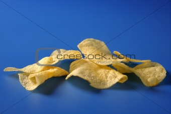 Potato fried chips