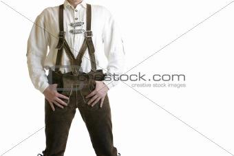 Oktoberfest Leather Trousers (lederhose)