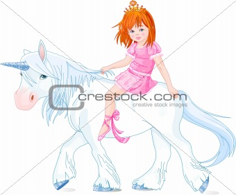 Princess on unicorn