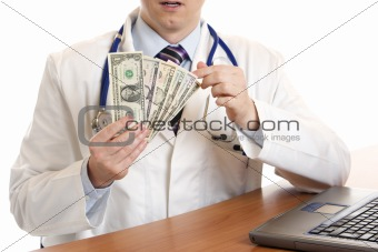 Money for the doctor