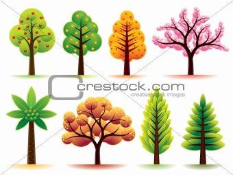 Modern Trees