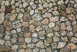 Rough stone wall texture