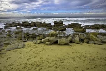 Beach wide angle