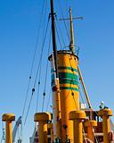 Boat chimney stacks