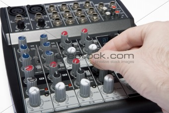 Professional Audio / DJ / Karaoke Mixer