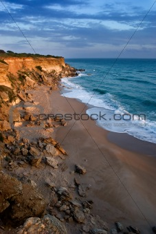 Small bay of Roche ( Cadiz )