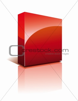 Three Dimensional Box with Shadow