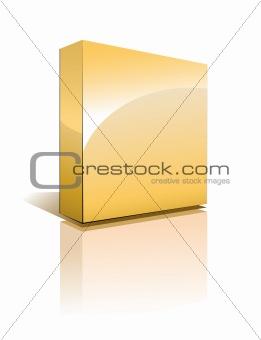 Three Dimensional Box with Shadow
