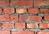 Brick wall of a building background