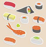  sushi set
