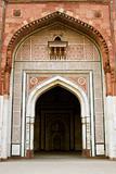 Ancient Mosque In Purana Qila
