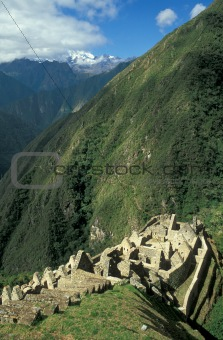 Abandoned Inca Village