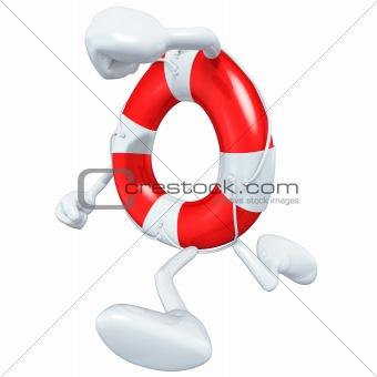 3D Lifebuoy Character