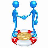 Lifebuoy Gold Coin Concept