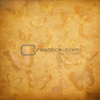 butterfly floral cover