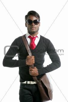 Androginous look black african model