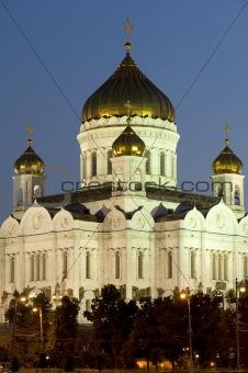 Cathedral of Christ the Savior closeup