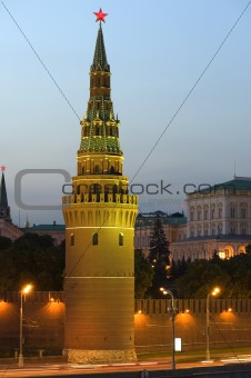 Tower Moscow Kremlin