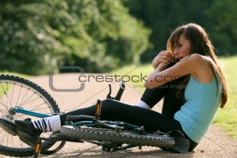accident on bicycle