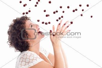 Catching the cherries