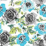 seamless flower rose pattern
