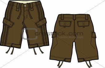 boy cargo shorts