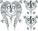 Heraldic wing royalty