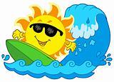Surfing Sun