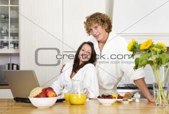 Breakfast together