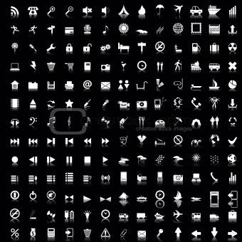 170 icons set