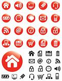 Red Computer Icons