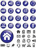 Blue Computer Icons